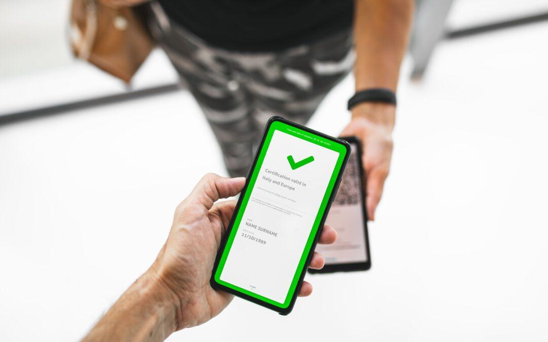 green pass obbligatorio sul lavoro